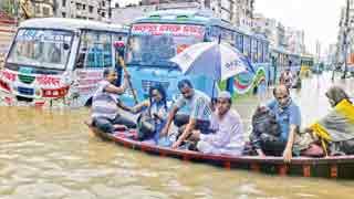 Heavy rain lashes Ctg city