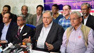 Oikyafront cent percent united: Dr Kamal