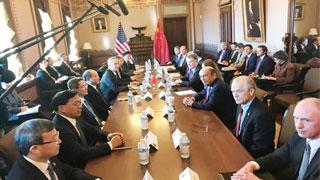 US-China trade talks begin in Washington