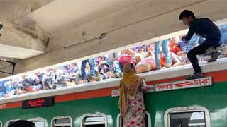 Rooftop train passengers to face strict actions