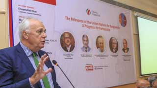 No quick fix to Rohingya problem: Malloch Brown