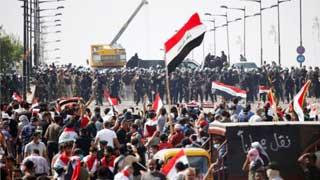 Iraq protests: Two dead as police fire tear gas amid fresh unrest