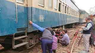 Sylhet's rail link restored after 16hrs