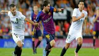 Barca held to a draw again in La Liga