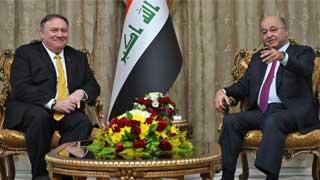 Secretary Pompeo meets President of Iraq Barham Salih