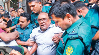 Barrister Mainul freed from jail after 97-day