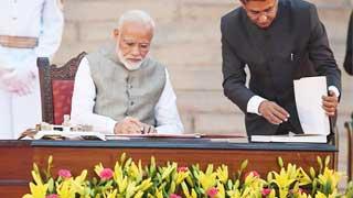 Modi sworn in as India PM