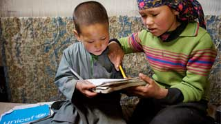 Access to education at risk for 17 mln children displaced by conflict
