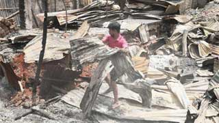 3,000 families affected in Mirpur slum fire