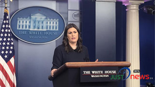 Wall is part of border security: WH Press Secretary Sanders