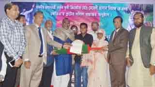 Cricketer Miraz gets land in Khulna