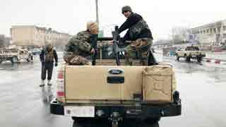 Kabul military base attack kills 11