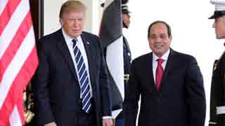 Trump speaks with Sisi