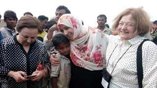 রোহিঙ্গা গণহত্যা বন্ধের আহ্বান নোবেলজয়ী তিন নারীর