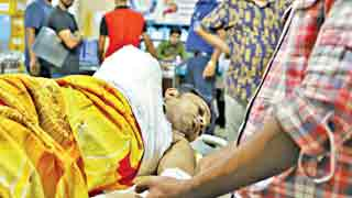 Arm losing student Rajib's condition unchanged