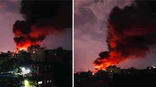 Fire breaks out at plastic factory in Lalbagh