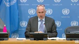United Nation stands for freedom of the press: Dujarric