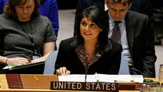 'US negotiated a $285 million cut in the UN budget'