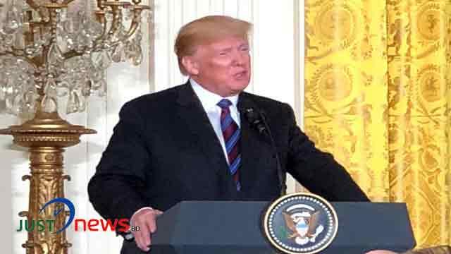 Trump speaks with Shinzo Abe