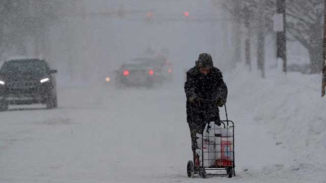 Snowstorm claims 14 lives in US Northeast