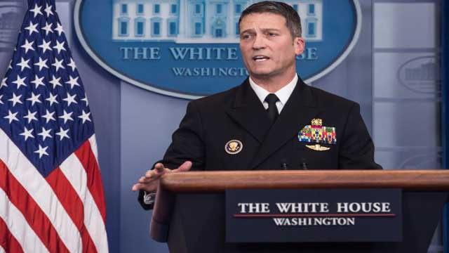 President Trump is totally fit, says physician Ronny Jackson