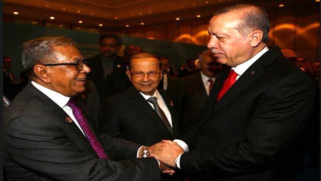 জেরুজালেম প্রশ্নে ওআইসি চুপ থাকতে পারে না: রাষ্ট্রপতি