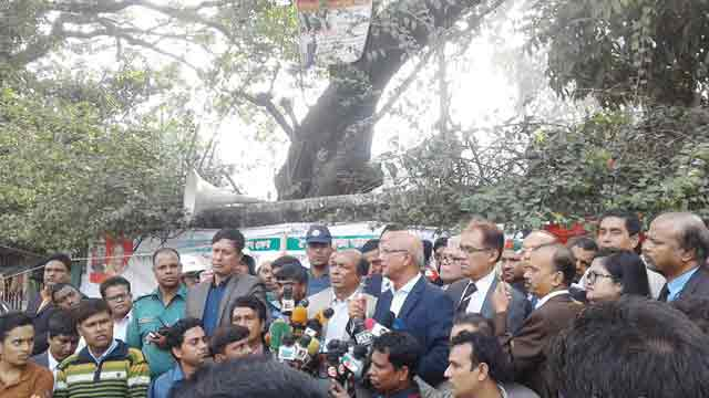Teachers reject Nahid's assurance, continue strike