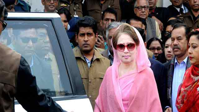 Street movement if Khaleda Zia convicted 'unlawfully'