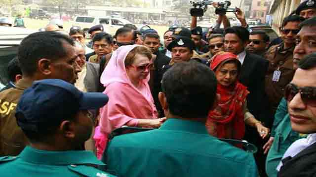 Khaleda Zia unlikely to be produced before court Sunday