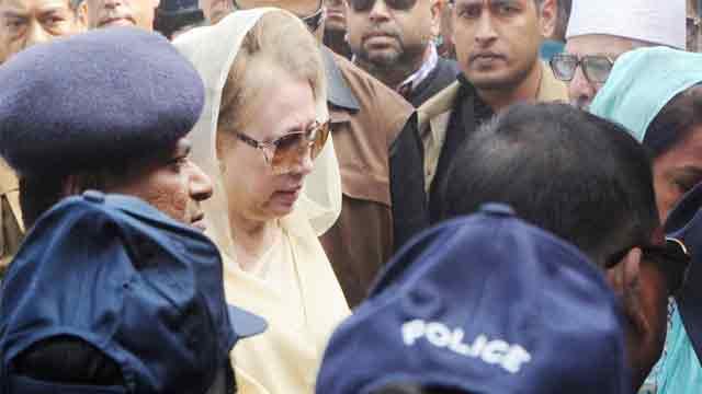 People to resist 'govt's blueprint' against Khaleda Zia