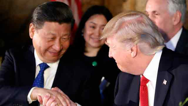 Trump speaks with Xi Jinping