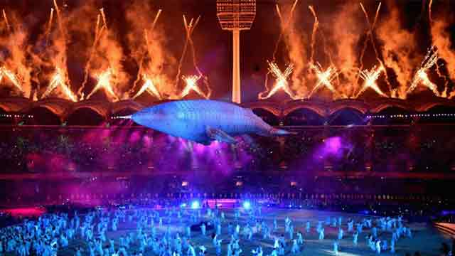 Gold Coast event starts with colourful opening ceremony