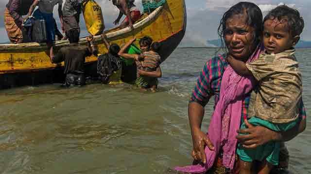 Myanmar army chief denies rape of Rohingya as UN visits