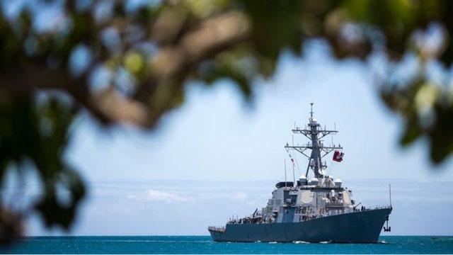 China condemns U.S. warships' South China Sea mission