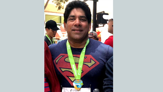 Bangladeshi origin Shuman shines in marathon run