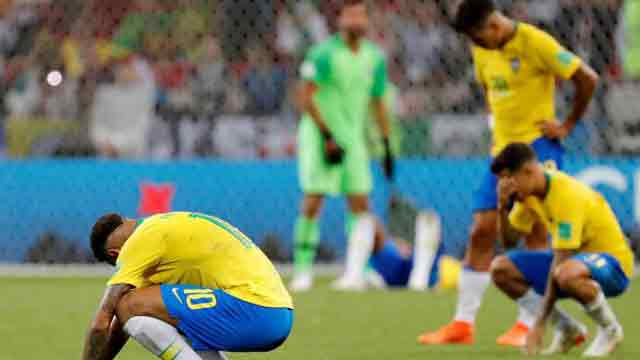 Another World Cup ends in agony for Neymar, Brazil