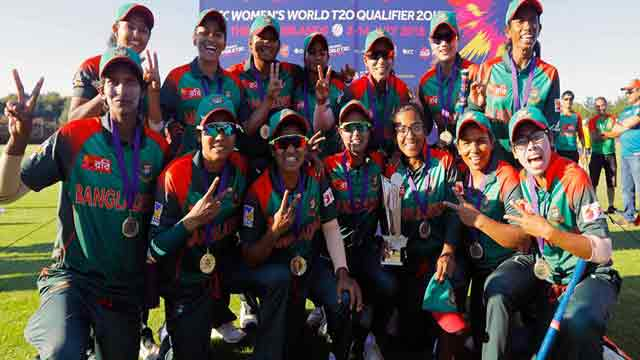 Bangladesh women top T20 qualifiers