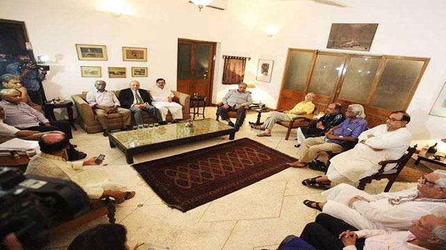 Opposition leaders hold talks over forging national unity