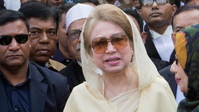 Trial to continue in Khaleda Zia's absence
