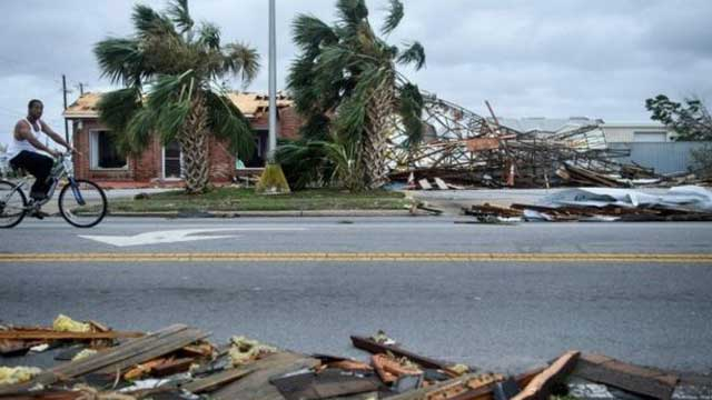 Hurricane Michael: Record-breaking hell storm mauls US