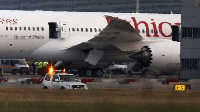 Ethiopian Airlines flight crashes with 157 aboard