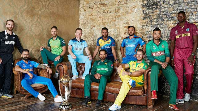 ICC World Cup kicks off Thursday