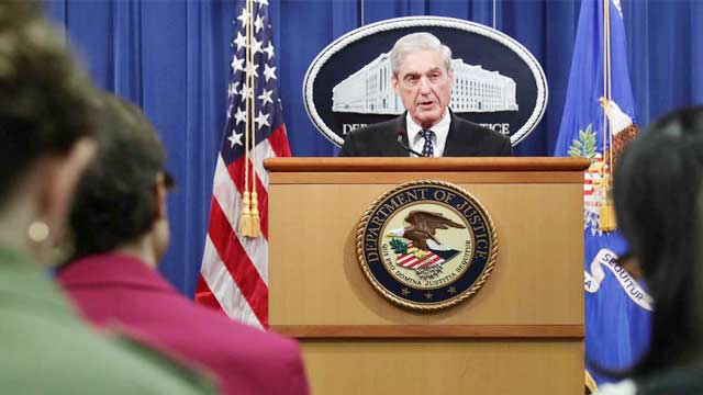 Charging Trump was not an option: Robert Mueller