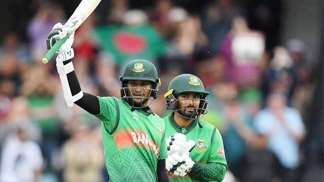 Shakib, Liton stars as Tigers maul West Indies