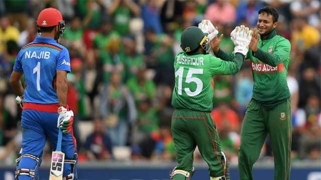 Shakib hands Afghanistan 7th WC defeat