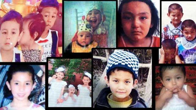 China separating Muslim children from their families