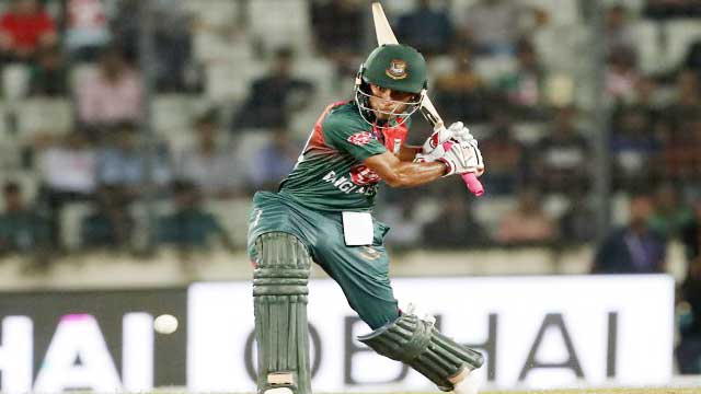 Afif guides Bangladesh to nervy win