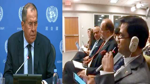 Nobody asked us to act as meditate to solve this: Russian FM on Rohingya crisis