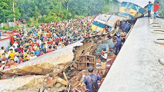 Brahmanbaria train crash victims identified