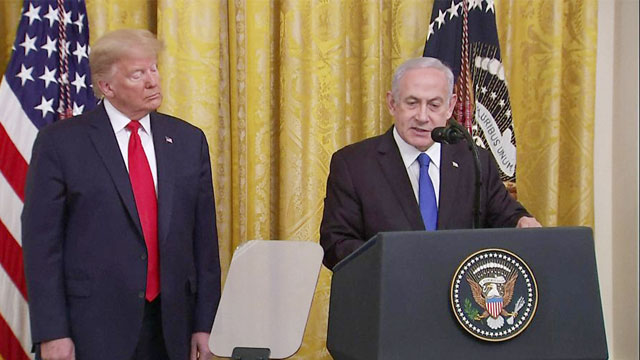 Trump releases Middle-East peace plan